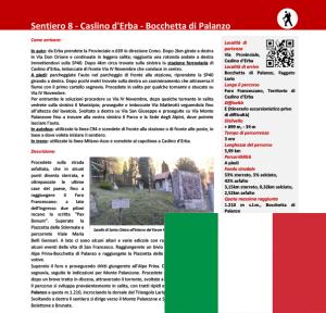 sentiero da Caslino a Bocchetta di Palanzo - ITA