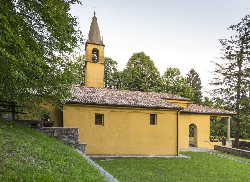 Santuario della Madonna di Campoe - Caglio