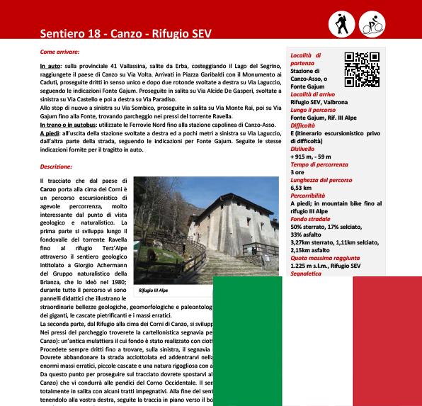 Sentiero da Canzo al Rifugio SEV ITA