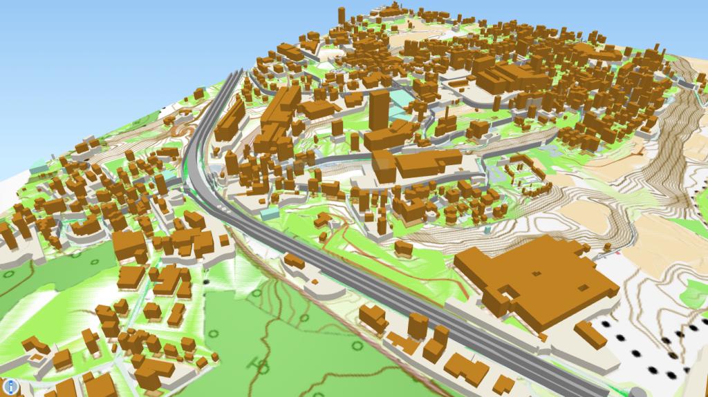 Mappe 3D con QGIS