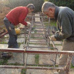 25 – Preparazione gabbia ferri correa