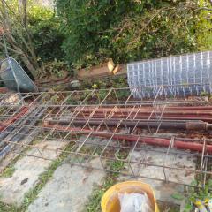 26 – Preparazione gabbia ferri correa