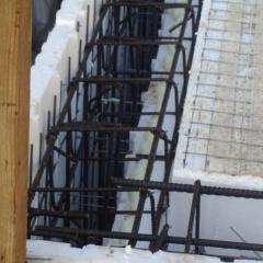 34 – Inserimento ferri verticali