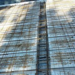 38 – Posizionamento rete sopra telaio