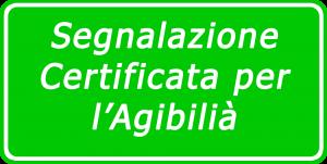 Segnalazione Certificata per Agibilità