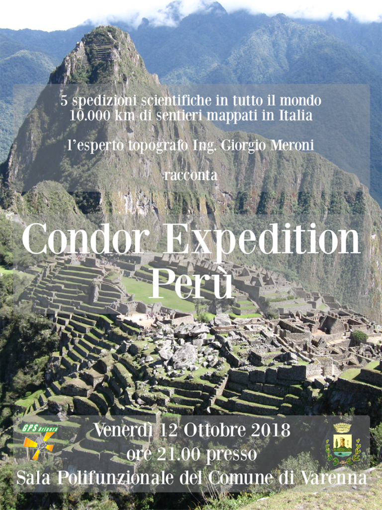locandina condor expedition varenna