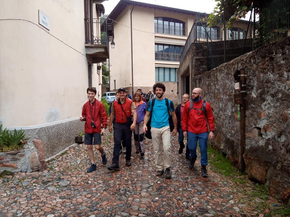 Uscita pratica corso base GPS Parco Campo dei Fiori